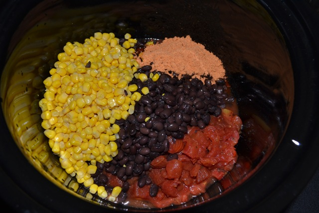 vegetarian-burritos-black-beans-corn-slow-cooker