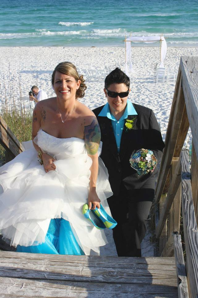 brooke-joana-real-lesbian-beach-wedding-florida-recessional